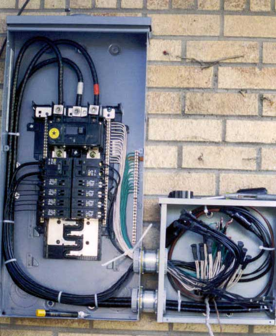 Home Electrical Power Box How To Wire A Mobile Home For: Service Panels And Splice Boxes
