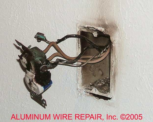 Burnt Devices Found in Homes - Aluminum Wire Repair, Inc. on circuit breaker wiring, electrical panel wiring, roughing in electrical wiring, electrical switch wiring, electrical socket, electrical wiring in north america, electrical wall outlets, exterior electrical wiring, british electrical wiring, scary electrical wiring, bad electrical wiring, basic electrical wiring, electrical wiring diagram, home wiring, electrical lighting wiring, electrical switches wiring, residential electrical wiring, electrical work, open neutral in electrical wiring, electrical plug,